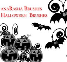Photoshop Halloween Brush