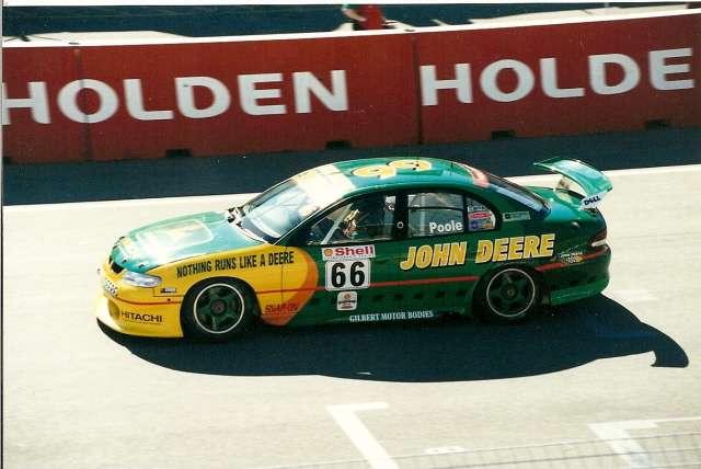 John Mclean Race Car