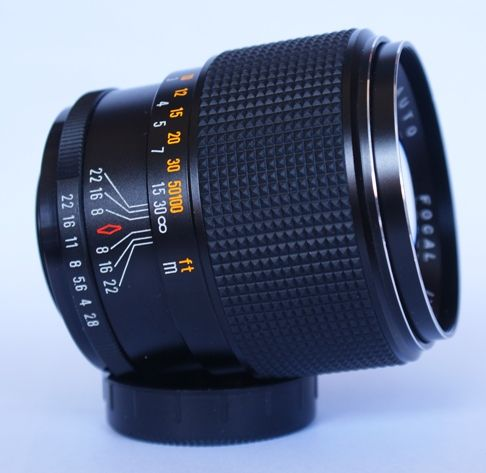 Auto focal 135mm f2 8 sn c279670 for Garage sn autos 42