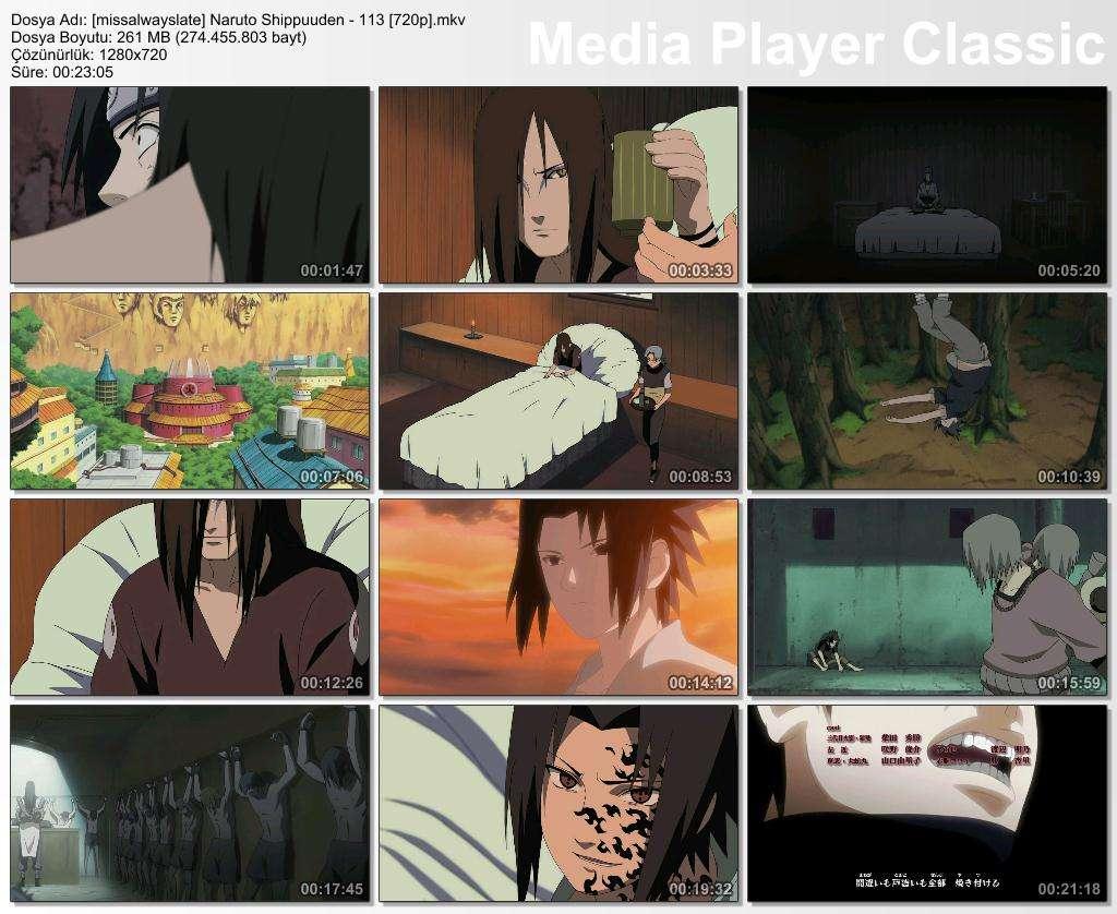 Naruto Shippuuden 6. Sezon Tüm Bölümler DVBRip x264 Türkçe Altyazılı Tek Link indir