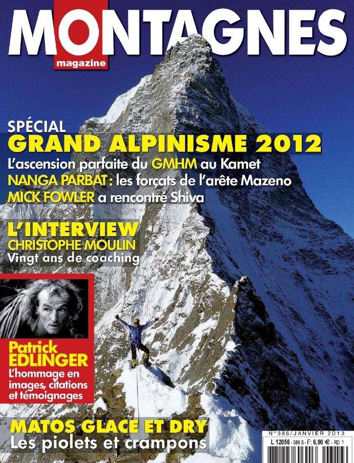 Montagnes Magazine N°386 Janvier 2013