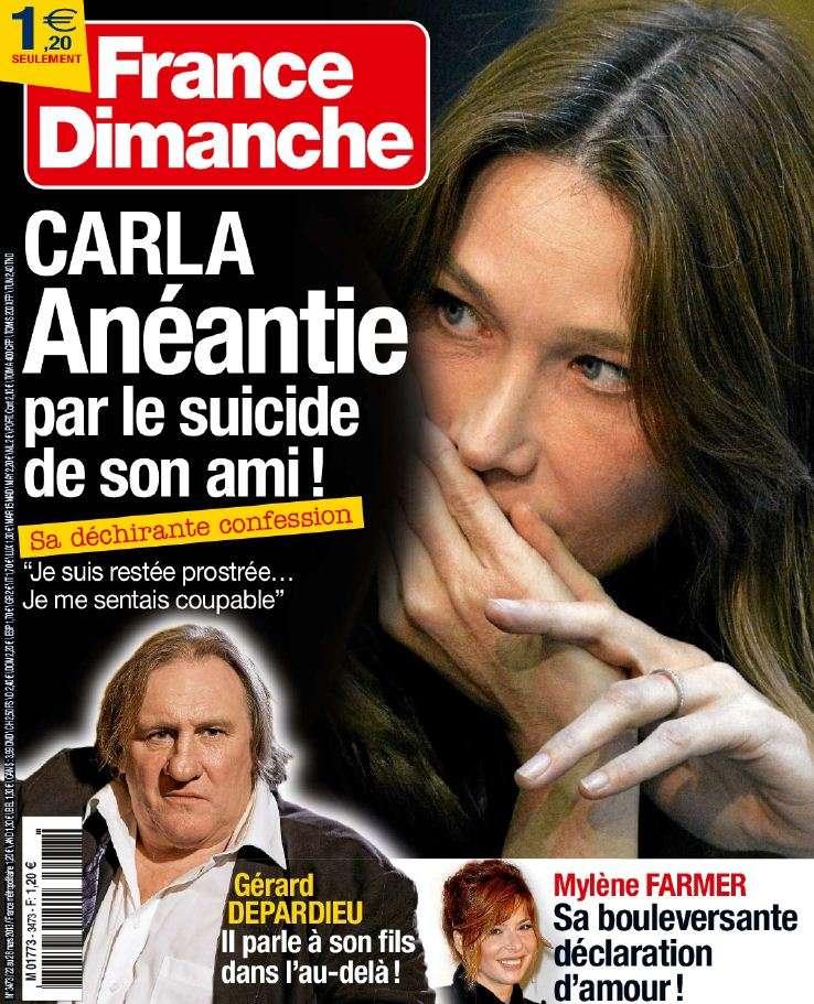 France Dimanche N°3473 du 22 au 28 Mars 2013