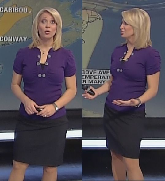 Heather Tesch legs skirt pics
