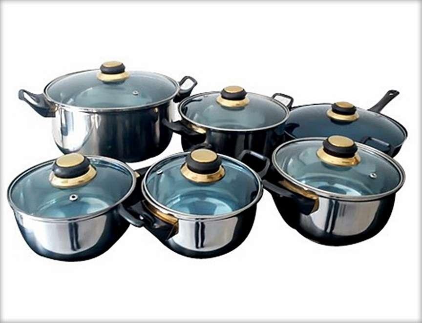 Remate bater a de cocina amazing cookware acero inoxidable - Remates de cocinas ...