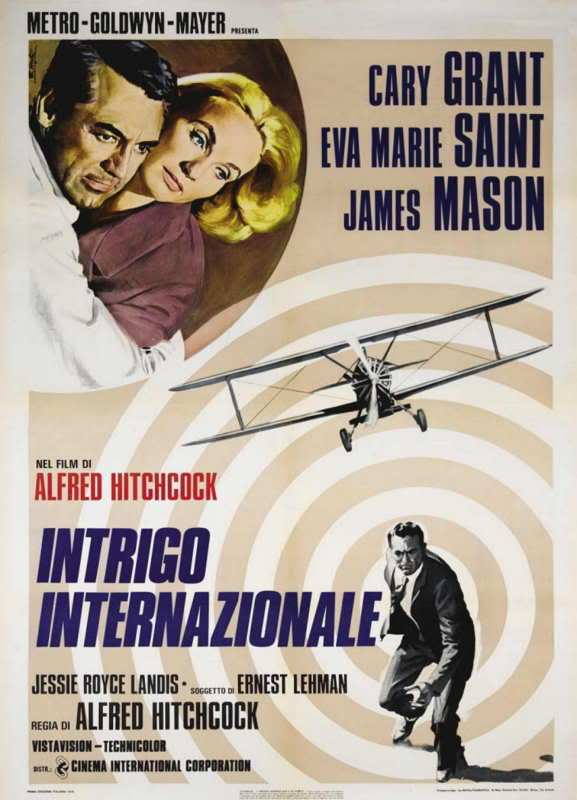 15631959conlamuerteenlo Alfred Hitchcock   North by Northwest (1959)